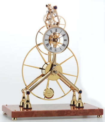 Great Wheel Skeleton Clock Kit